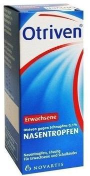 Otriven 0,1 % Nasentropfen für Erwachsene und Schulkinder (100 ml)