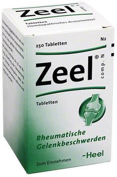 Heel Zeel Comp. N Tabletten (250 Stk.)