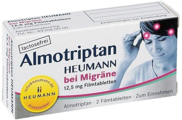 Almotriptan 12,5 mg Filmtabletten (2 Stk.)