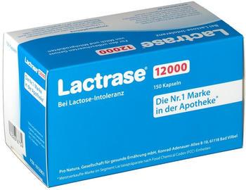 Pro Natura Lactrase 12000 FCC Kapseln (150 Stk.)