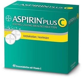Aspirin Plus C Brausetabletten (40 Stk.)