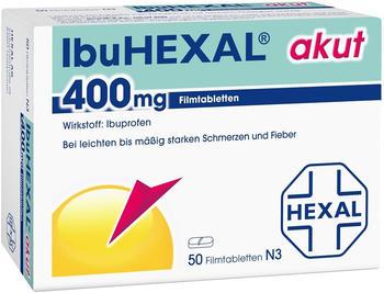 IbuHexal akut 400mg Filmtabletten (50 Stk.)