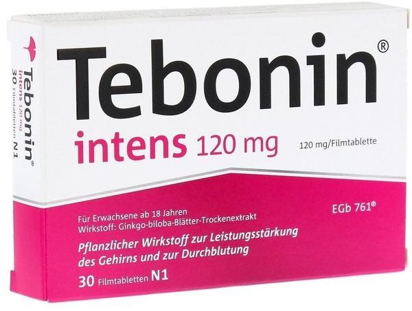 Dr Willmar Schwabe GmbH & Co KG Tebonin intens 120mg Filmtabletten 30 St.