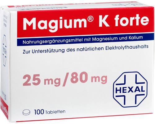 Hexal Magium K Forte Tabletten (100 Stk.)
