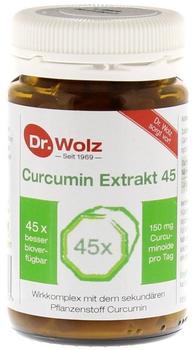Dr. Wolz Curcumin Extrakt 45 Kapseln (90 Stk.)