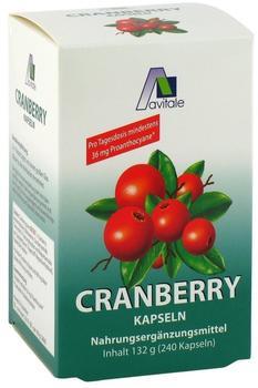 Avitale Cranberry Kapseln 400 mg (240 Stk.)