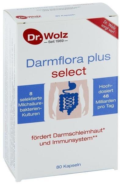 Dr Wolz Zell GmbH DARMFLORA plus select Kapseln 80 St