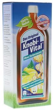 KnobiVital Naturheilmittel GmbH KNOBIVITAL 960 ml ohne Zuckerzusatz