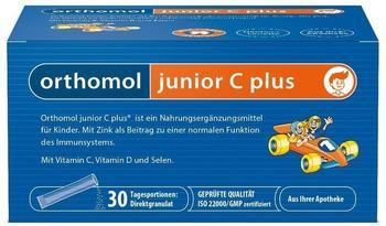 Orthomol Junior C Plus Granulat Himbeer-Limette (30 Stk.)