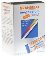Dr. Grandel Grandelat Magnesium Direkt 400 mg Pulver 40 St.