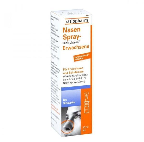 Nasenspray Erwachsene Konservierungsmittelfrei (10 ml)
