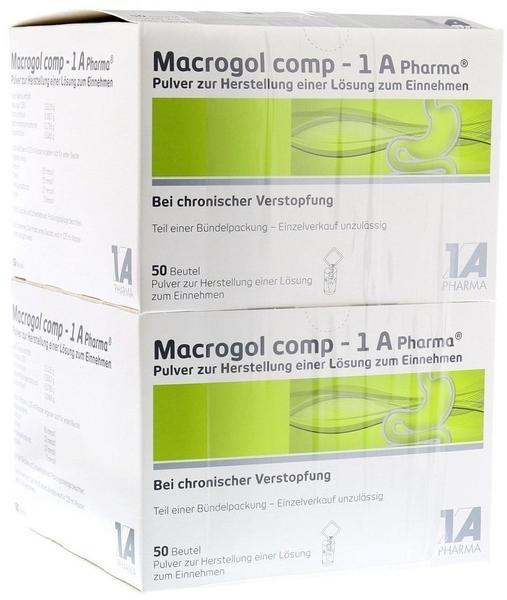 1 A Pharma MACROGOL comp 1A Pharma Plv.z.Her.e.Lsg.z.Einn. 100 St