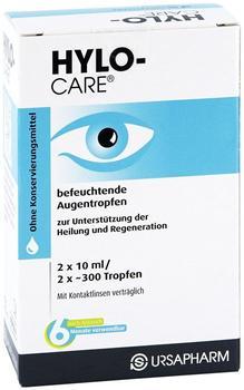 Hylo Care Augentropfen (2 x 10 ml)