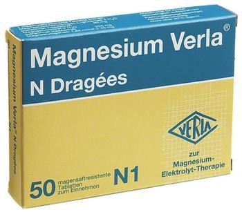 Magnesium Verla N Dragees (50 Stk.)