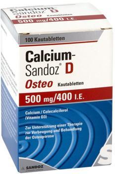 Calcium Sandoz D Osteo Kautabletten (100 Stk.)