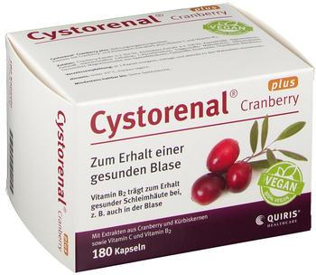 Quiris Cystorenal Cranberry plus Kapseln (180 Stk.)