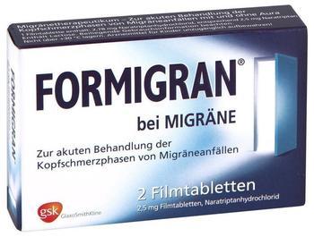 Formigran Filmtabletten (2 Stk.)