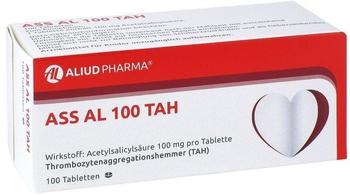 Aliud ASS AL 100 TAH Tabletten 100 St.
