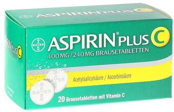 Aspirin Plus C Brausetabletten (20 Stk.)