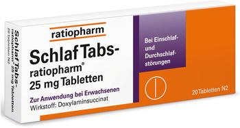 Schlaf Tabs Tabletten (20 Stk.)