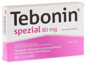 Tebonin Spezial 80 mg Filmtabletten (60 Stk.)