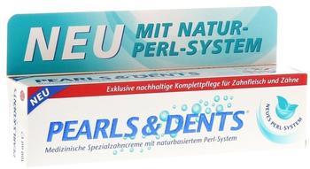 Dr. Rudolf Liebe Pearls & Dents Medizinische Spezialzahncreme mit naturbasiertem Perl-System (100ml)