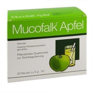 Mucofalk Apfel Granulat Beutel (20 Stk.)