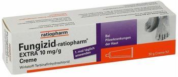 Ratiopharm FUNGIZID ratiopharm Extra Creme 30 g