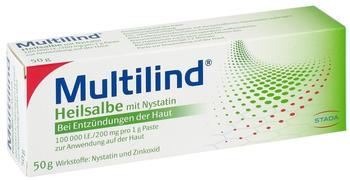 Multilind Heilsalbe m. Nystatin (50 g)
