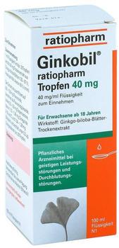 Ginkobil 40 mg Tropfen (100 ml)