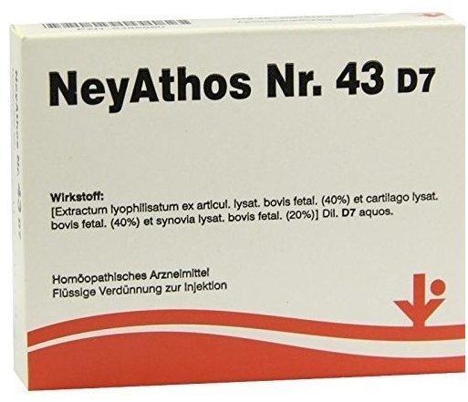 vitOrgan Neyathos Nr. 43 D 7 Ampullen (5 x 2 ml)