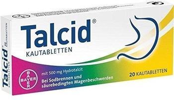 Talcid Kautabletten (20 Stk.)