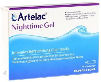 Artelac Nightime Gel (3 x 10 g)