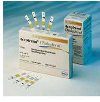 Accutrend Cholesterol Teststreifen (25 Stk.)