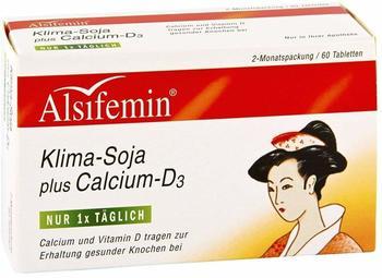 ALSITAN ALSIFEMIN Klima Soja+Calcium+D3 Tabletten 60 St