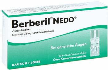 Dr Gerhard Mann BERBERIL N EDO Augentropfen 20X0.5 ml