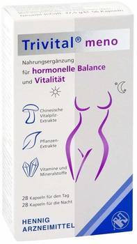 Hennig Arzneimittel GmbH & Co KG TRIVITAL meno Kapseln 56 St