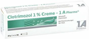1 A Pharma Clotrimazol 1% Creme 1A Pharma 20g