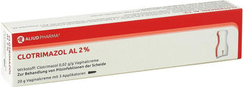 Aliud CLOTRIMAZOL AL 2% Vaginalcreme 20 g
