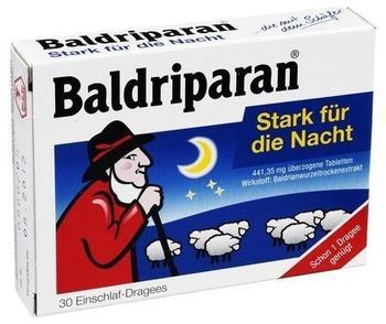 pfizer-baldriparan-stark-fuer-die-nacht-ueberzogene-tab-30-st