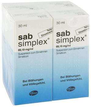 Pfizer Sab Simplex Suspension (4 x 30 ml)