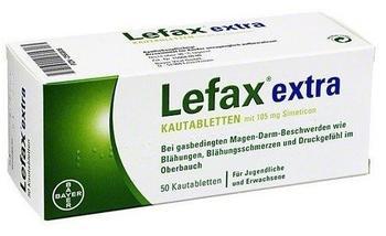 BAYER Lefax extra Kautabletten 50 St.