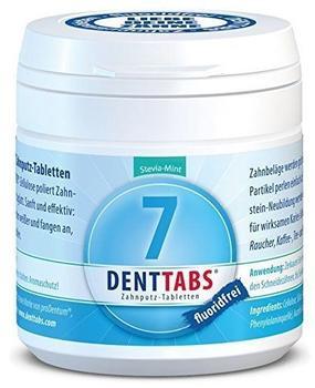 Denttabs Stevia-Mint fluoridfrei (125 Stk.)