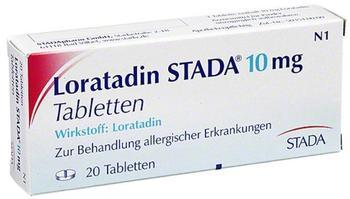 Loratadin 10 mg Tabletten (20 Stk.)
