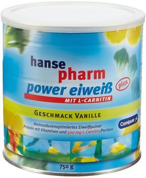 Hansepharm Power Eiweiss Plus Vanille 750g