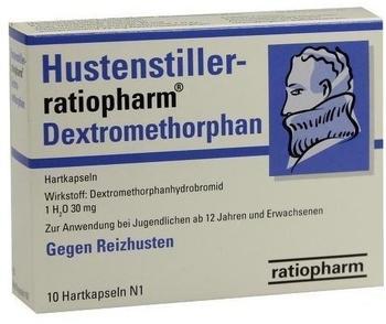 Hustenstiller Dextromethorphan Kapseln (10 Stk.)