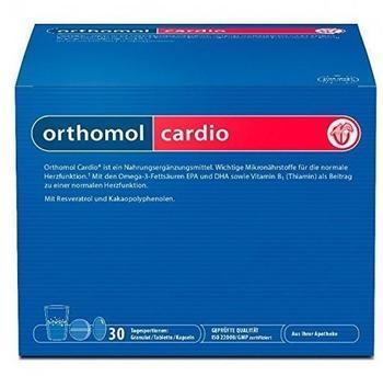 Orthomol Cardio Kombipackung Granulat & Kapseln (30 Stk.)