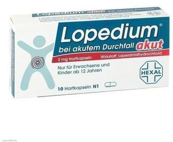 Lopedium Akut Iso Bei Akutem Durchfall Brausetabletten (10 Stk.)