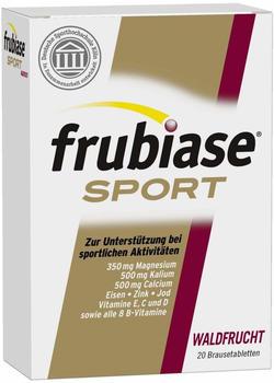 Boehringer Ingelheim Frubiase Sport Waldfrucht Brausetabletten (20 Stk.)