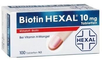 Biotin 10 mg Tabletten (100 Stk.)